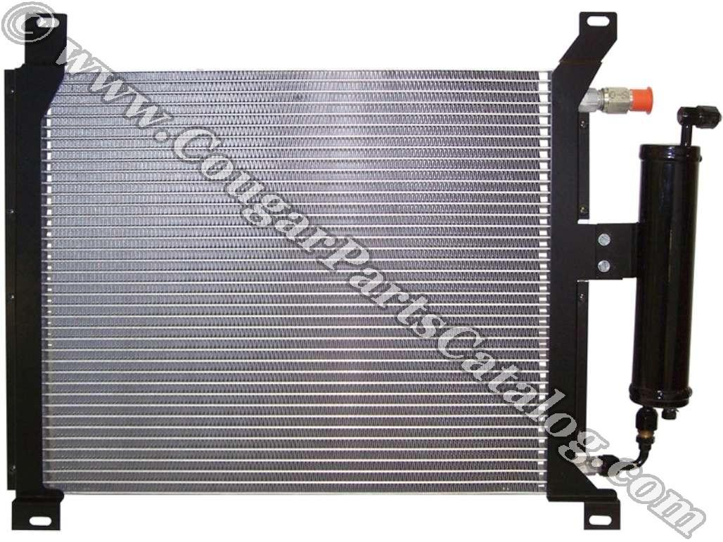 Condenser Kit - w/ Drier - High Performance - New ~ 1967 - 1968 Mercury Cougar / 1967 - 1968 Ford Mustang - 42069