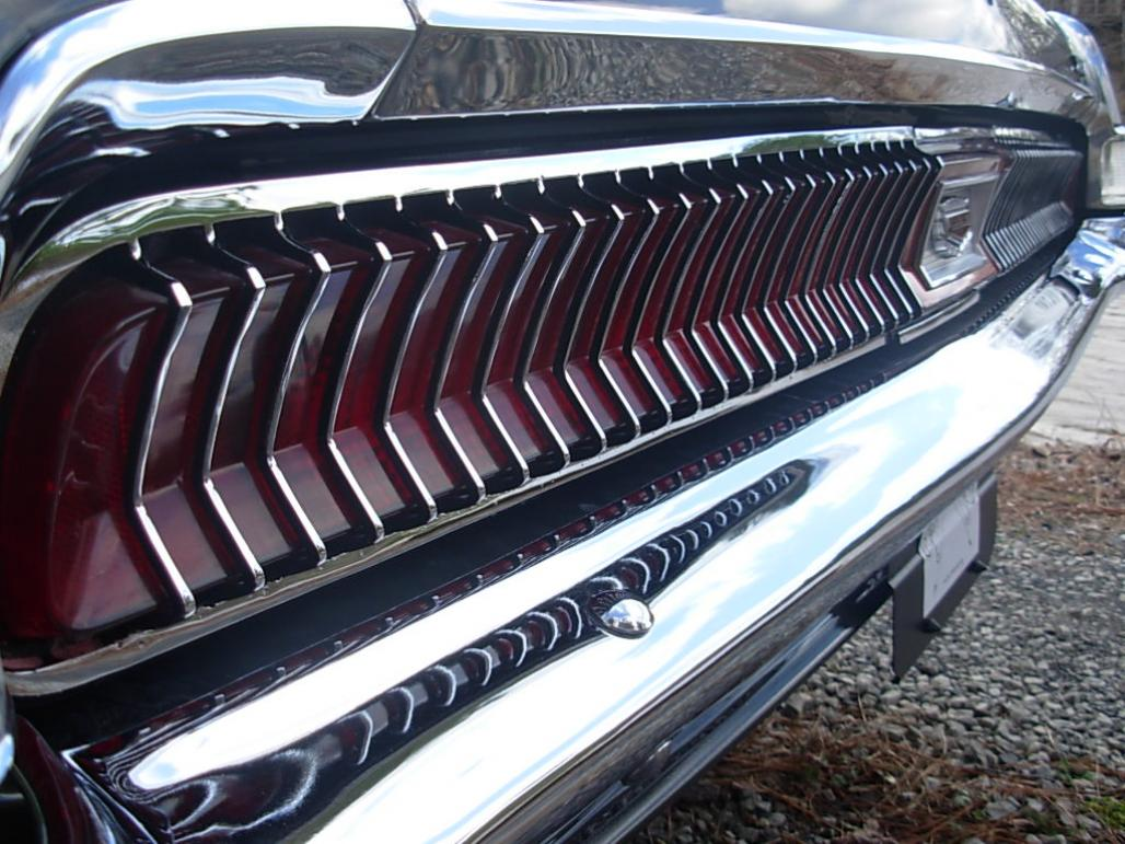Bumper - Rear - Restored - PRE-PAY CORE CHARGES ~ 1969 - 1970 Mercury Cougar - 42510