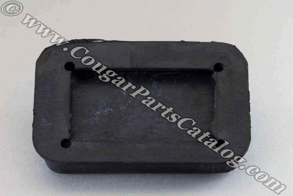 Clutch Pedal Pad - Repro ~ 1969 - 1973 Mercury Cougar - 1969 - 1973 Ford Mustang - 13940