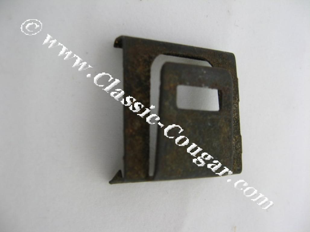 Clip - Bezel - Master Power Window Switch - EACH - Used ~ 1970 - 1972 Mercury Cougar / 1971 - 1972 Ford Mustang - 14164