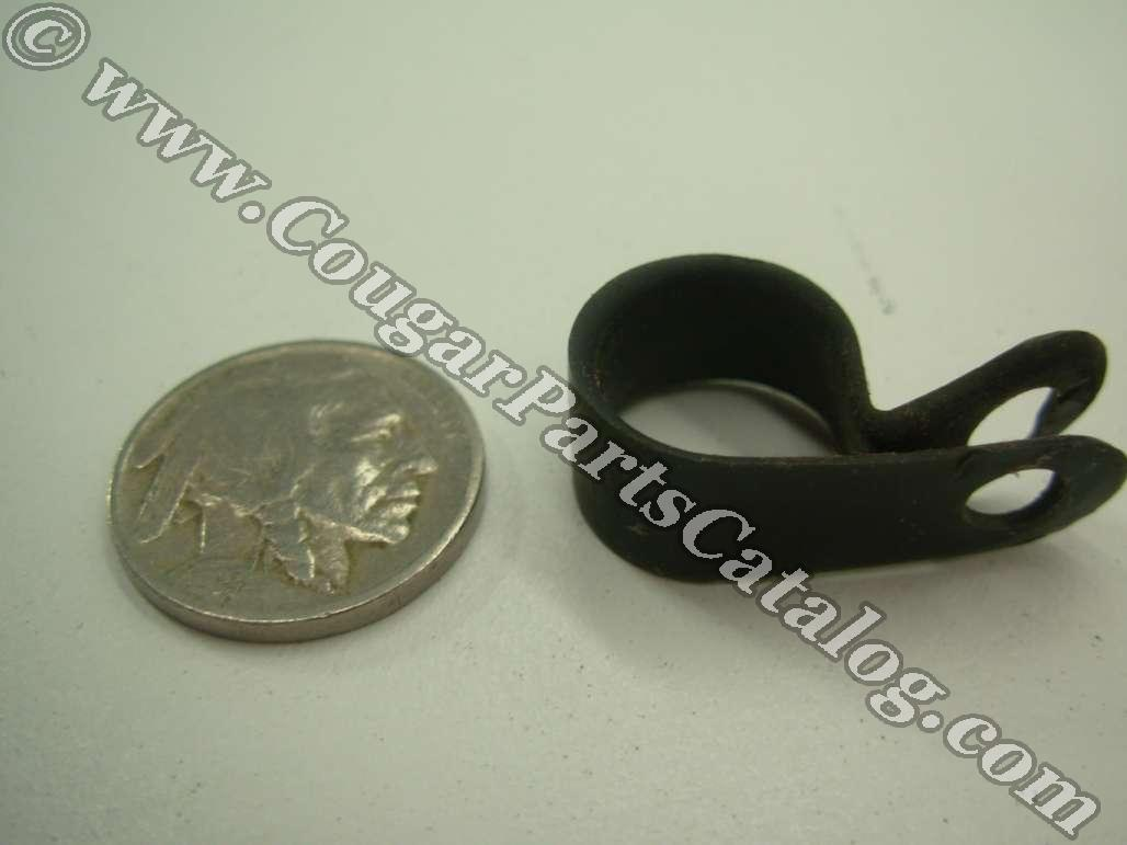 Clip - Plastic - Used ~ 1967 - 1973 Mercury Cougar / 1967 - 1973 Ford Mustang - 14272