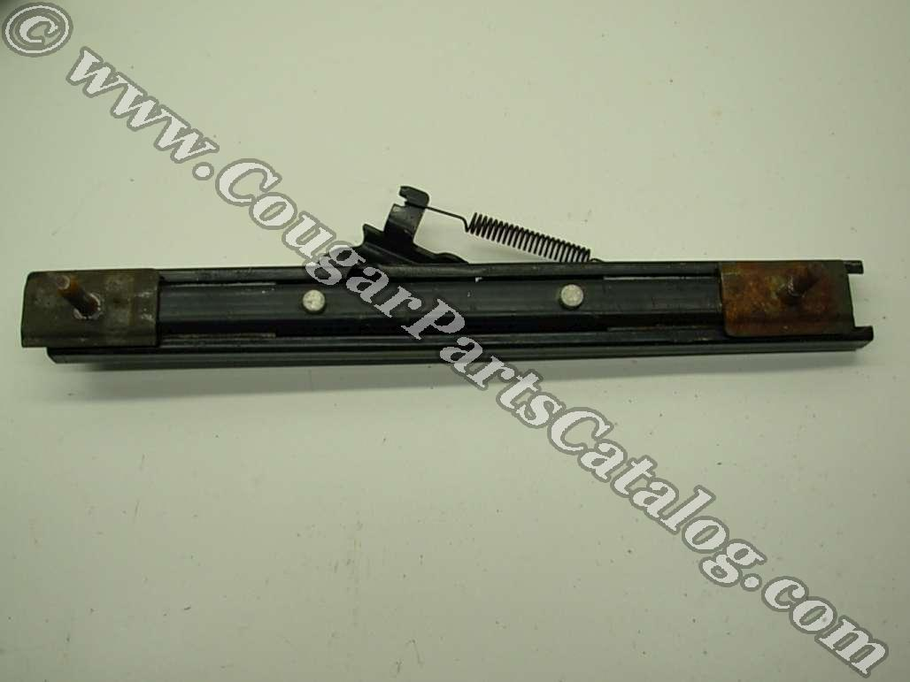 Seat Track - Non Lever Side - Used ~ 1967 - 1970 Mercury Cougar / 1967 - 1970 Ford Mustang - 14705