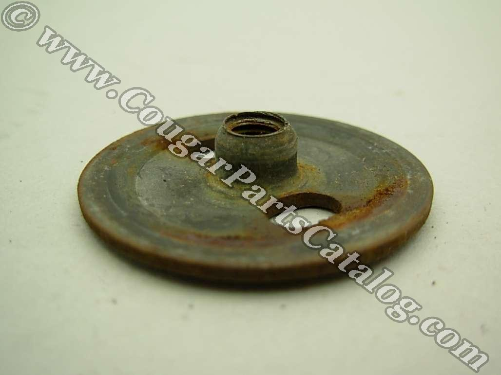 Retainer - Bolt-In Door Glass - Used ~ 1970 - 1973 Mercury Cougar / 1970 - 1973 Ford Mustang - 11-0202