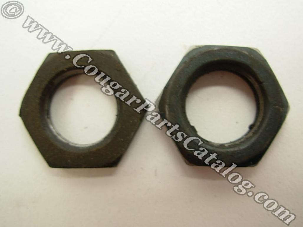 Attaching Nuts - Power Steering Reservoir to Pump - Pair - Used ~ 1967 - 1973 Mercury Cougar / 1967 - 1973 Ford Mustang - 23370