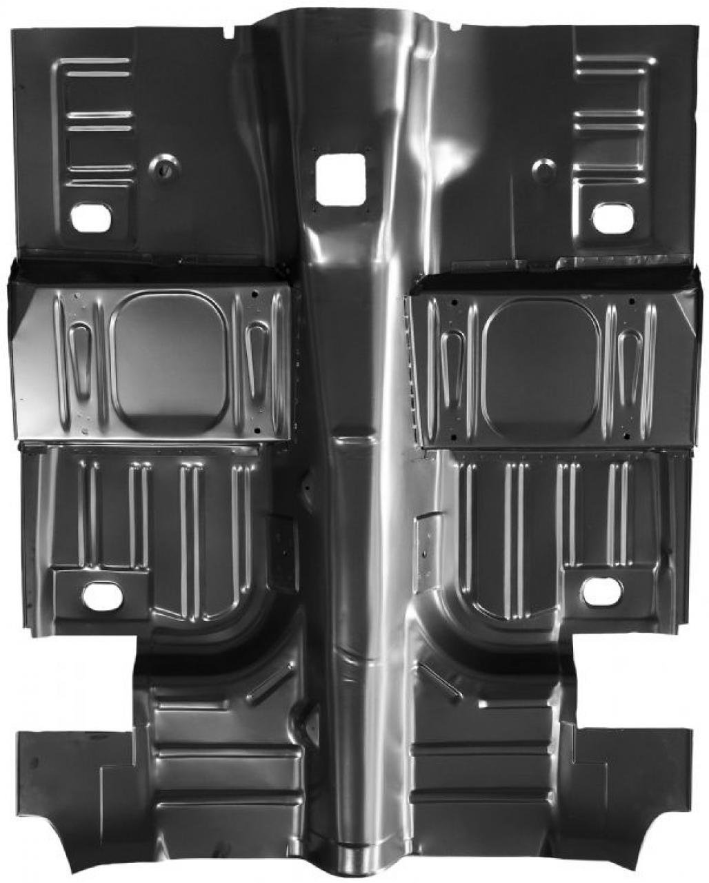 Complete floor pan repro 1967 1968 mercury cougar for 1968 ford mustang floor pans