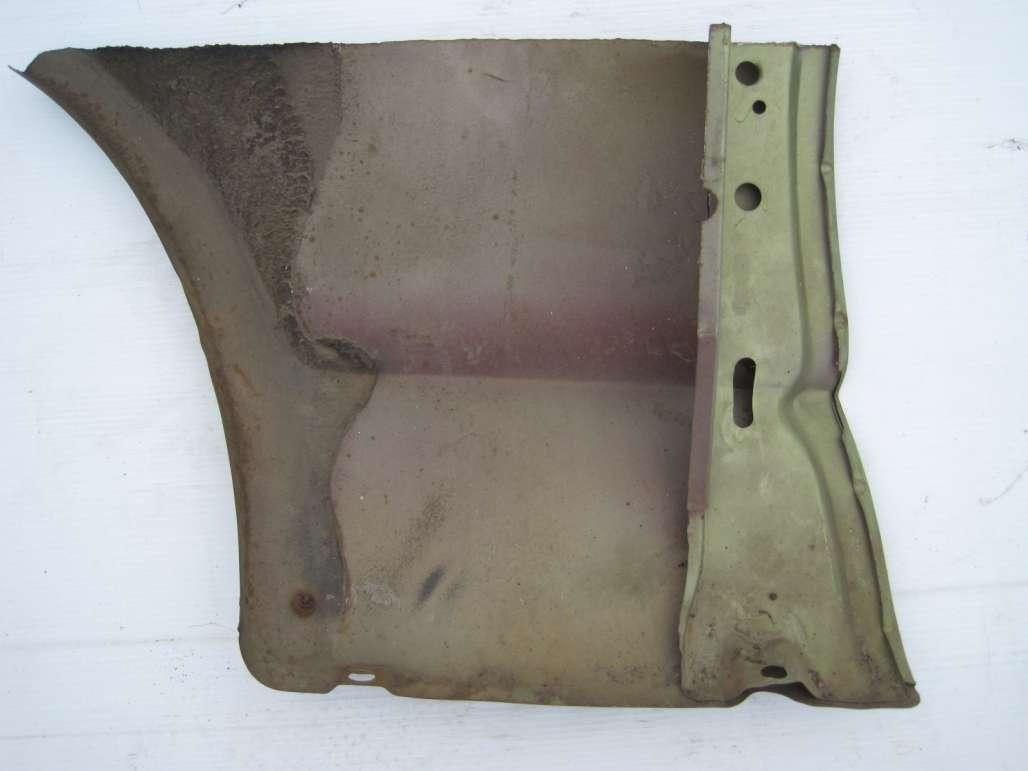 Patch Panel - Fender - Lower - Rear - Passenger Side - Used ~ 1967 - 1968 Mercury Cougar - 19117