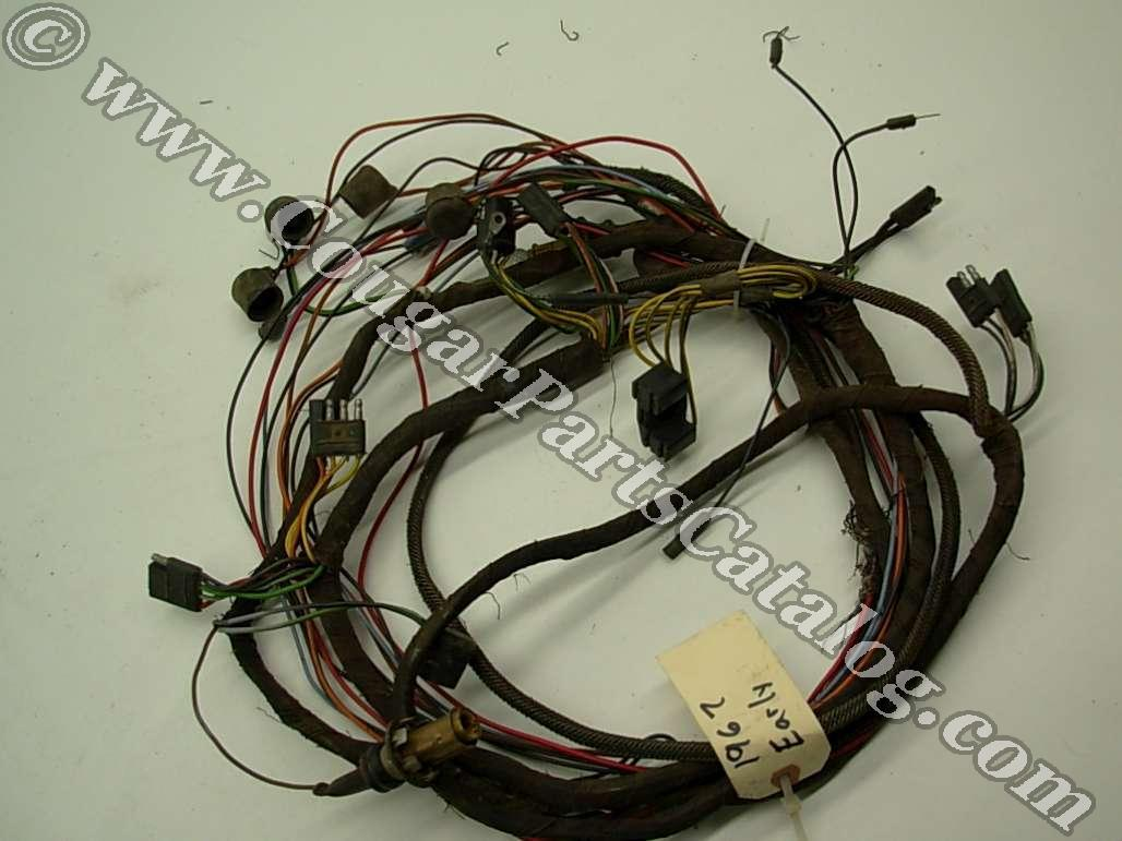 taillight wiring harness standard early before 1 3 1967 rh secure cougarpartscatalog com Facebook Photos of 67 Cougar 67 Corvette
