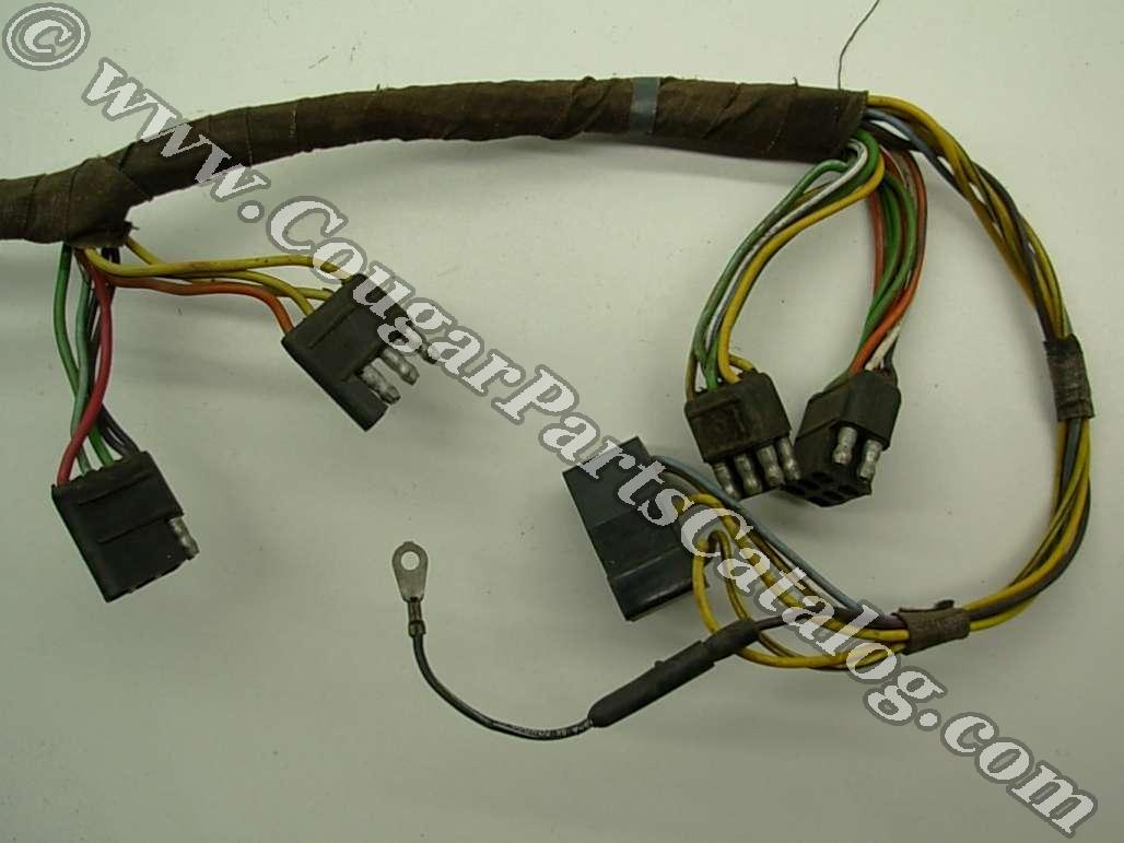 Taillight wiring harness standard early before