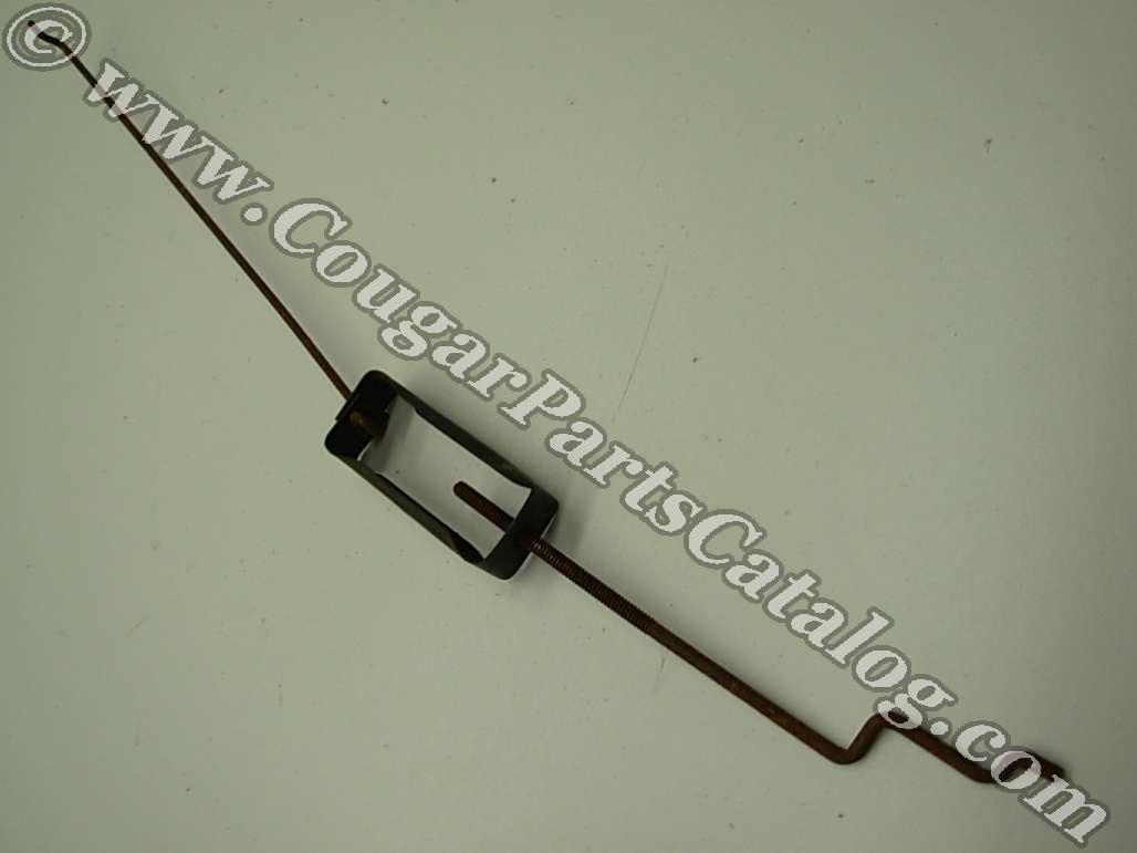 Seat Track - Bucket Seat - Linkage - Used ~ 1967 - 1971 Mercury Cougar / 1965 - 1971 Ford Mustang - 19164
