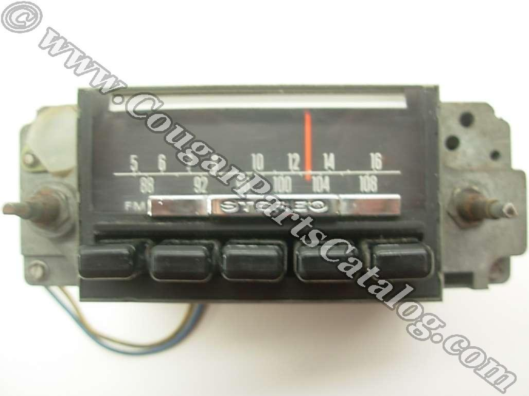 Radio - Am-fm Stereo - Non-functional