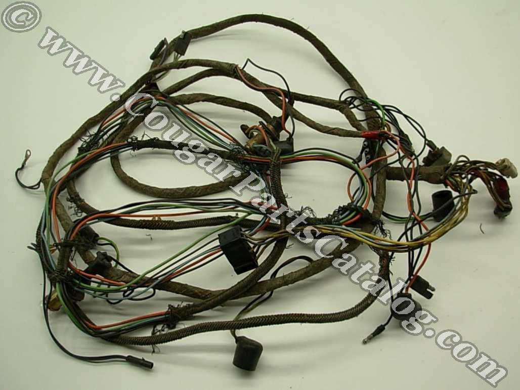 Taillight Wiring Harness - Standard / XR7 - Grade A - Used ~ 1968 Mercury Cougar - 19304