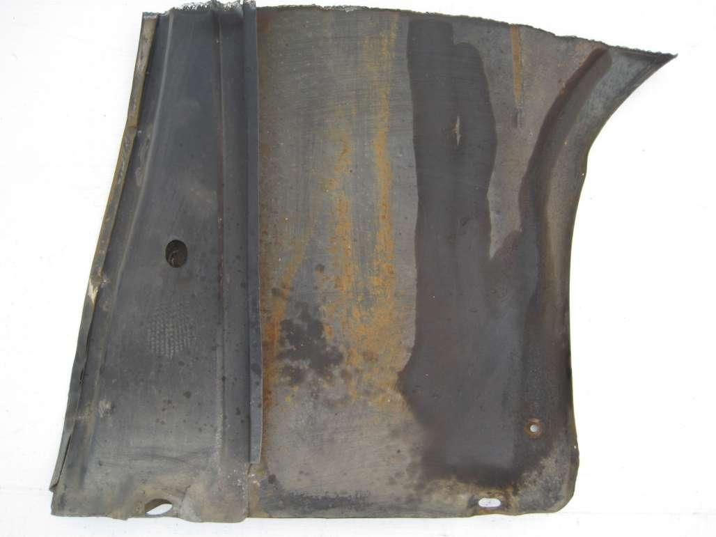 Patch Panel - Fender - Lower - Rear - Driver Side - Used ~ 1969 - 1970 Mercury Cougar - 19395