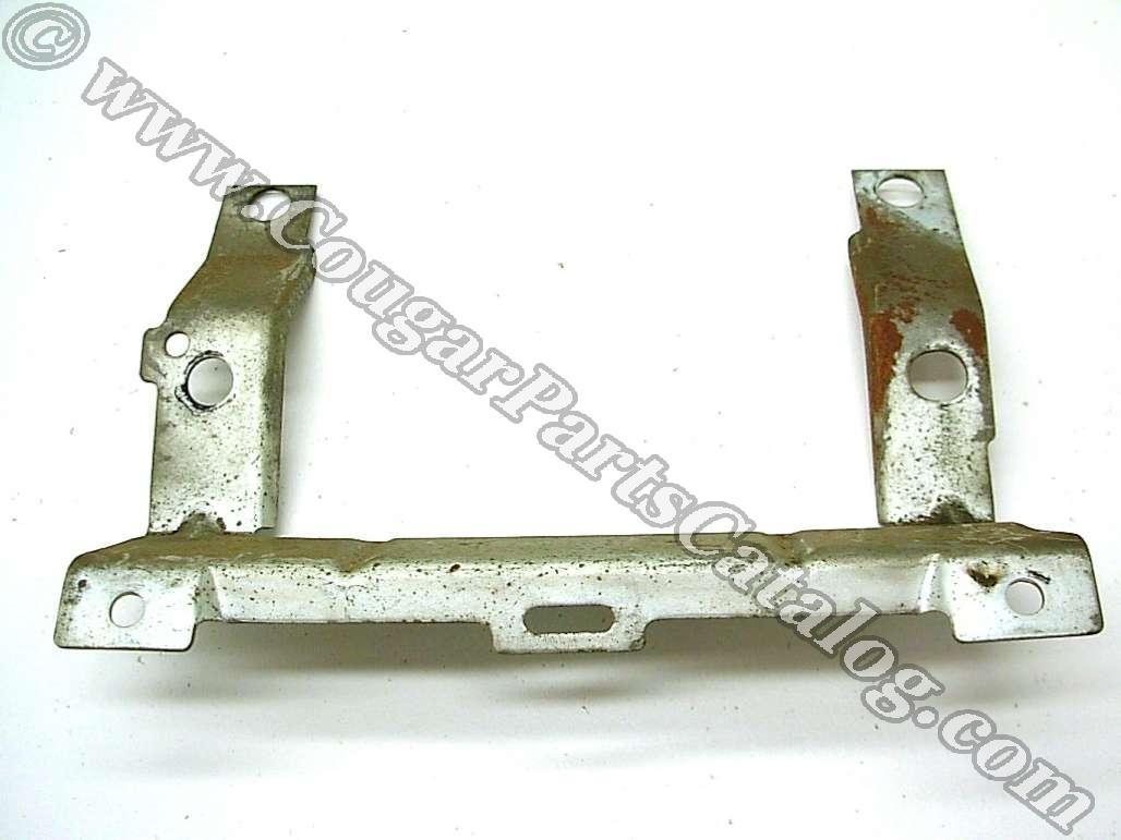 Bracket - Radio - Front - Used ~ 1969 - 1970 Mercury Cougar / 1969 - 1970 Ford Mustang - 19399