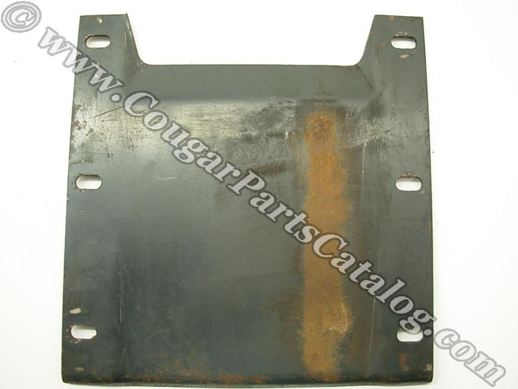 Body Reinforcement Plate - Convertible - Used ~ 1967 - 1973 Mercury Cougar / 1967 - 1973 Ford Mustang - 23892