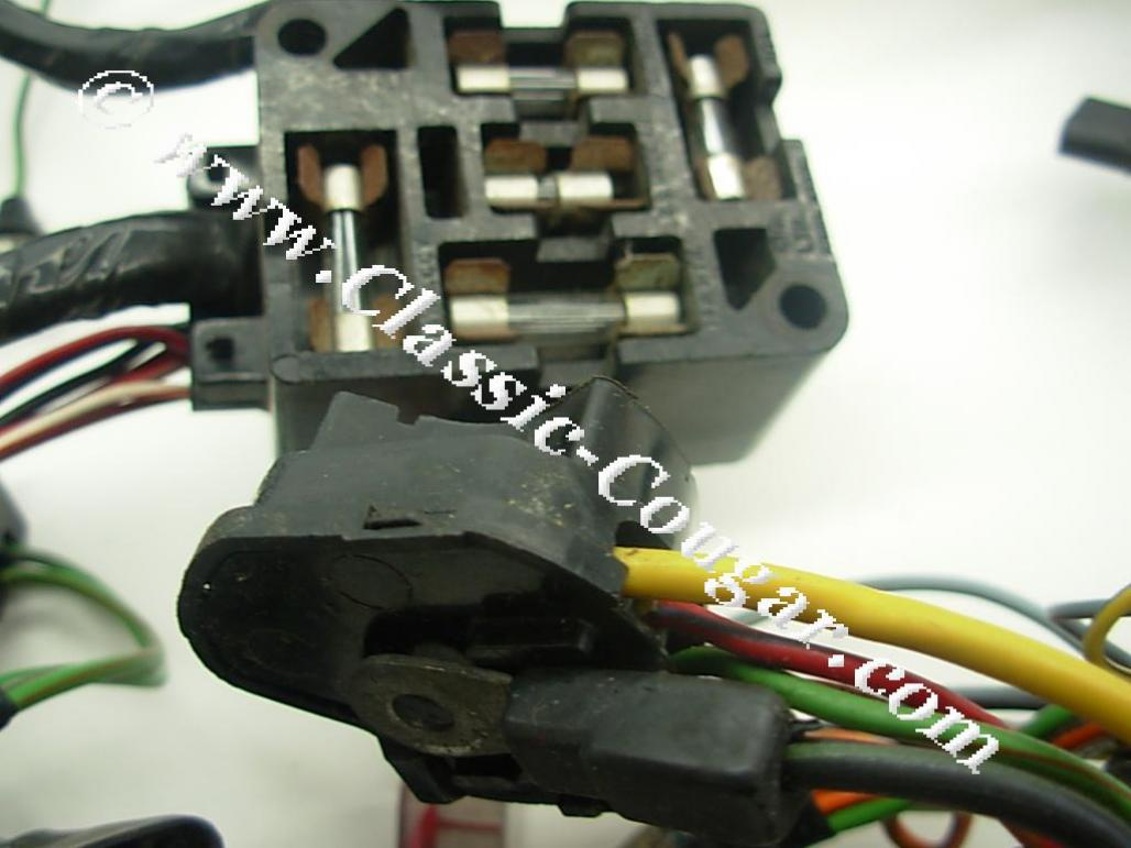 cougar wiring harness   21 wiring diagram images