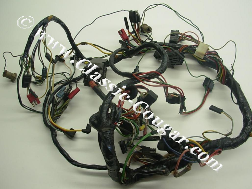 Under Dash Wiring Harness - XR7 - Grade A - Used ~ 1967 Mercury Cougar (  1967 Mercury Cougar ) at West Coast Classic Cougar :: The Definitive 1967 -  1973 Mercury Cougar Parts SourceWest Coast Classic Cougar