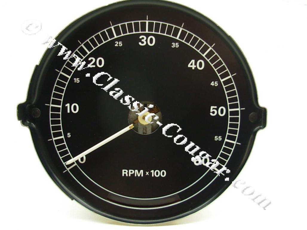 Tachometer - 6000 Rpm - Xr7 - Used