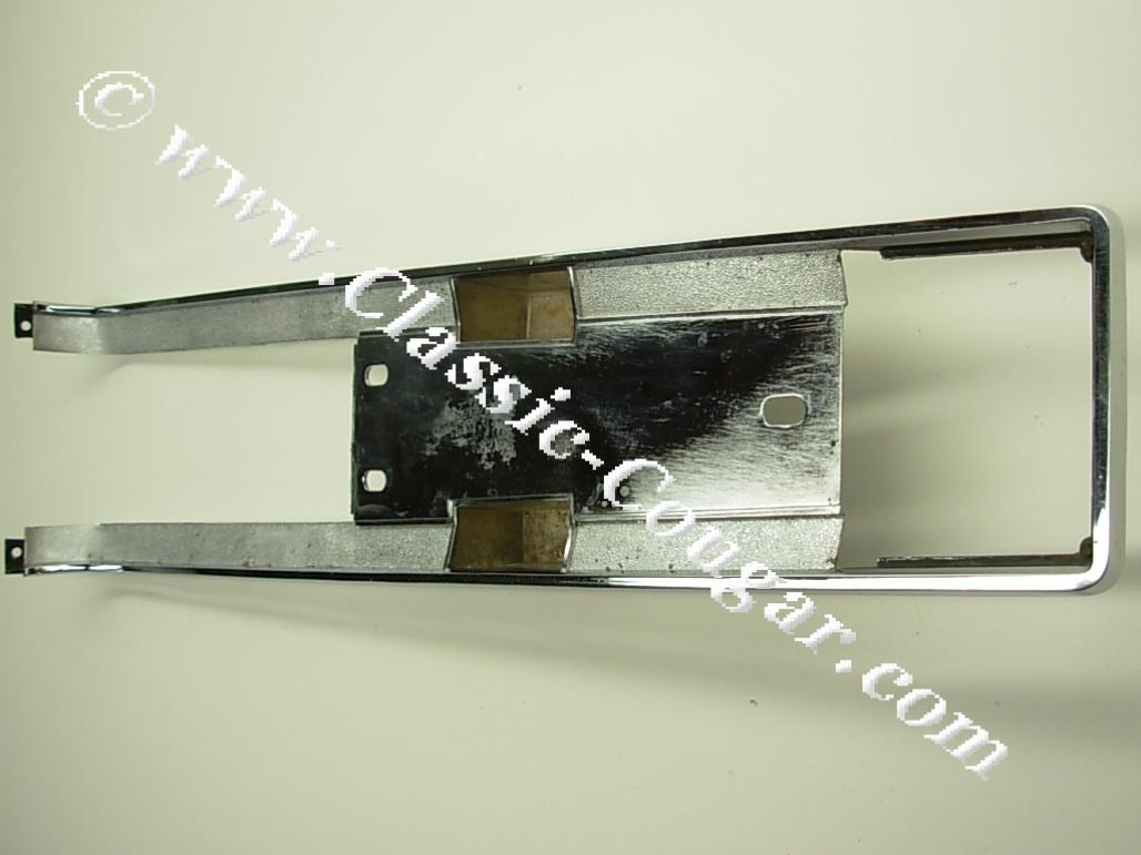 Moulding / Trim - Center Console - Lower - Automatic Transmission - Grade A - Used ~ 1967 Mercury Cougar Standard - 24221
