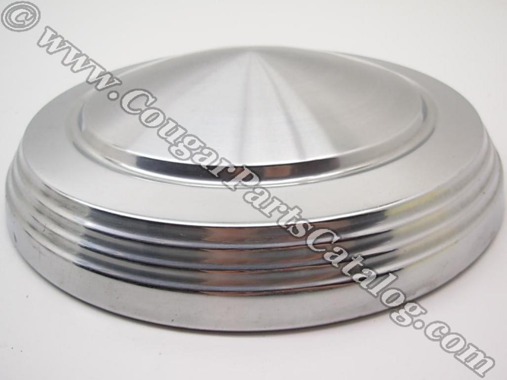 Hubcap / Wheel Cover - Dog Dish Style - 1970 Eliminator - Grade A - Used ~ 1970 - 1973 Mercury Cougar / Cyclone / Comet - 24423