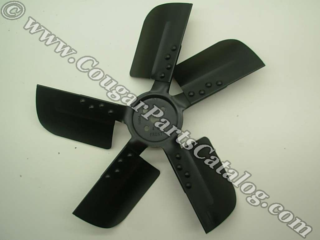 Cooling Fan - Radiator - 5 Blade - Used ~ 1968 - 1970 Mercury Cougar / 1968 - 1970 Ford Mustang - 24453
