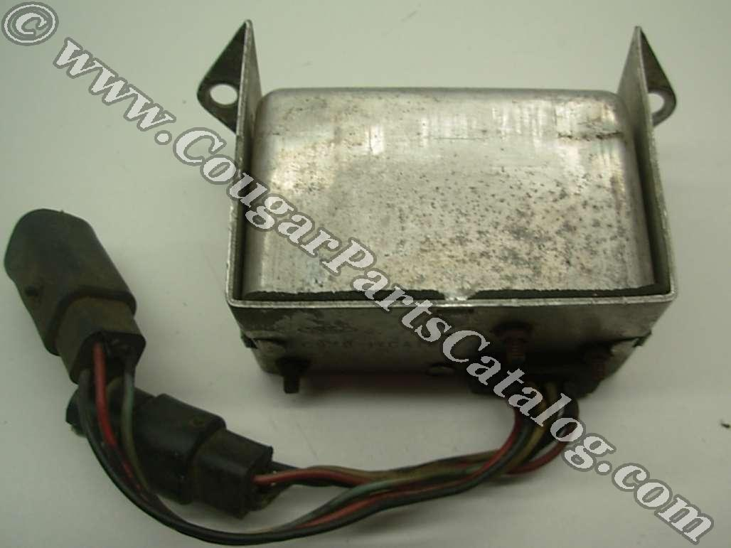 Controller - Intermittent Wiper - Used ~ 1969 - 1970 Mercury Cougar / 1969 - 1970 Ford Mustang - 24776