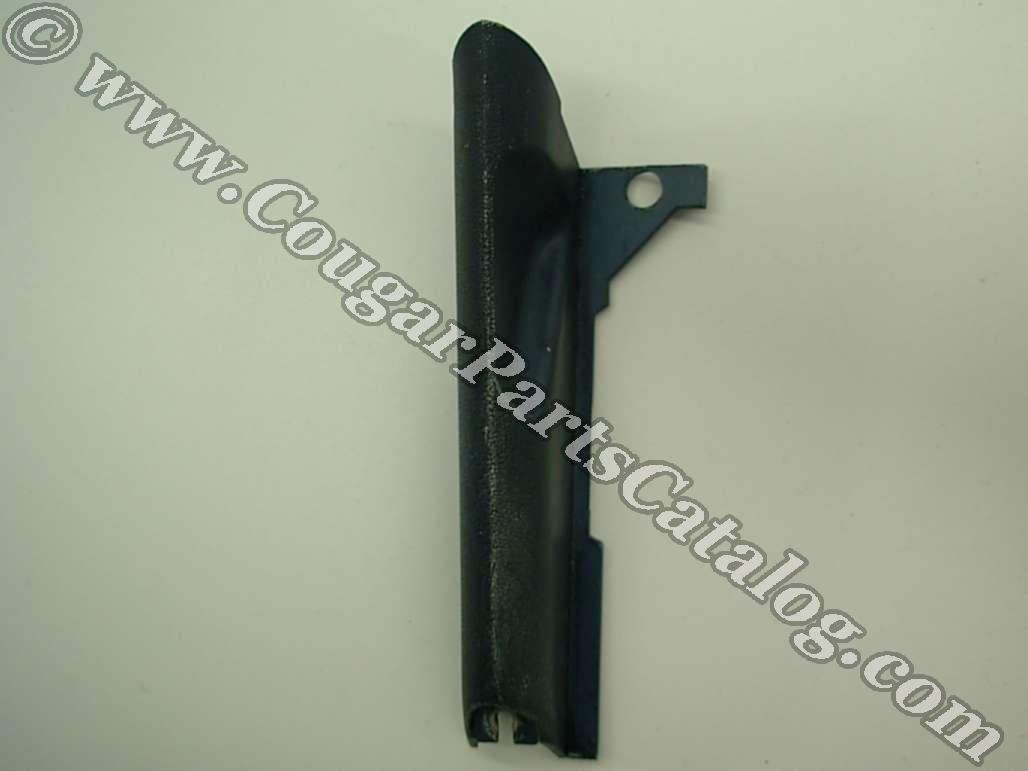 Moulding / Trim - Radio to Dash - Driver Side - Used ~ 1969 - 1970 Mercury Cougar / 1969 - 1970 Ford Mustang - 24778