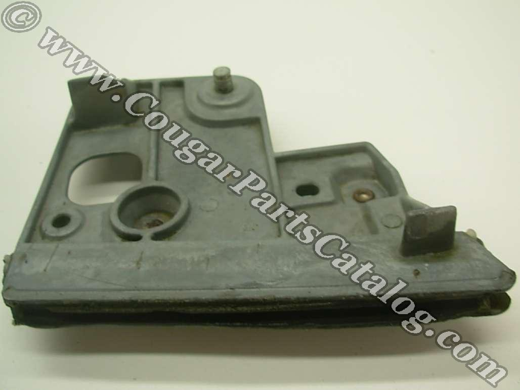 Quarter Window Bracket - Driver Side - Used ~ 1969 - 1970 Mercury Cougar / 1969 - 1970 Ford Mustang - 11-0145