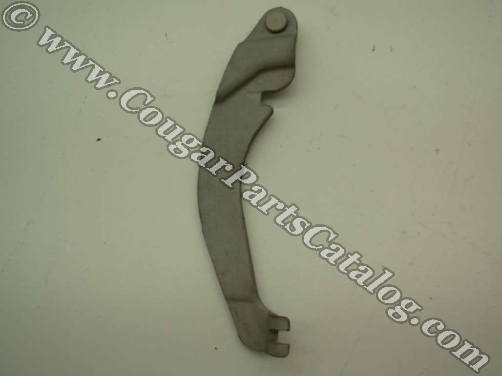 Emergency / Parking Brake Lever - Driver Side - Used ~ 1967 - 1973 Mercury Cougar / 1967 - 1973 Ford Mustang - 24835