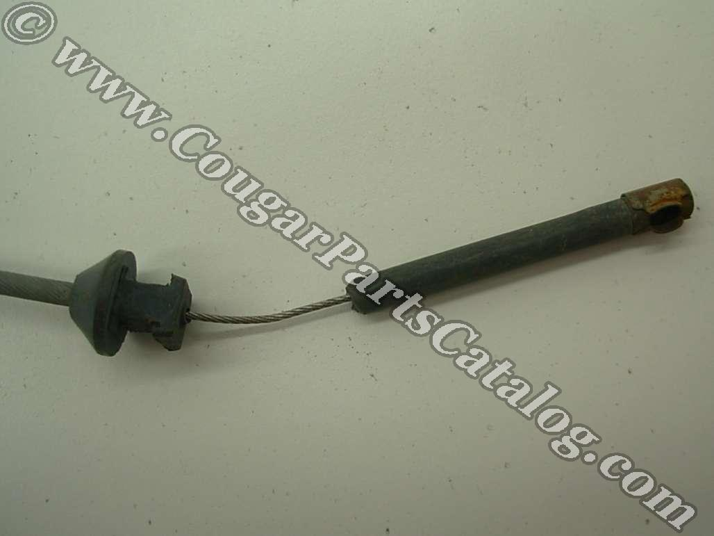Throttle Cable - 351 - Grade B - Used ~ 1969 Mercury Cougar / 1969 Ford Mustang - 18555