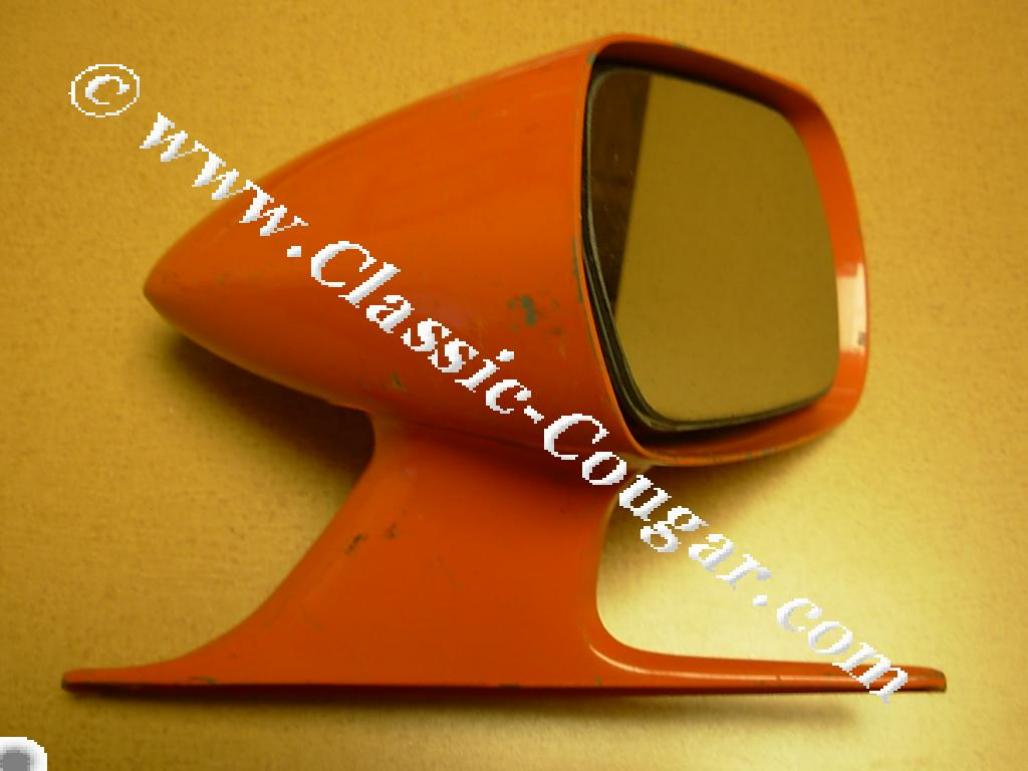 Side View Mirror - Sport - Passenger Side - Eliminator - Used ~ 1970 Mercury Cougar - 25034