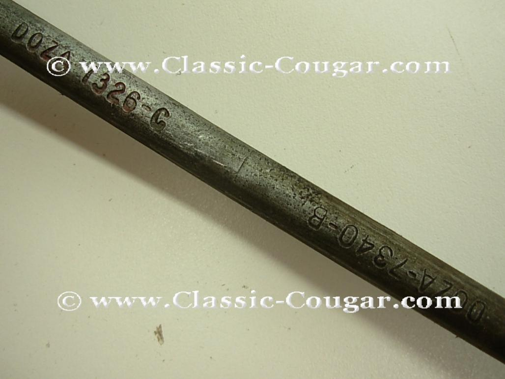 Shift Rod - Automatic Trans - C-6 - 428CJ - Used ~ 1970 Mercury Cougar / 1970 Ford Mustang - 16-0025