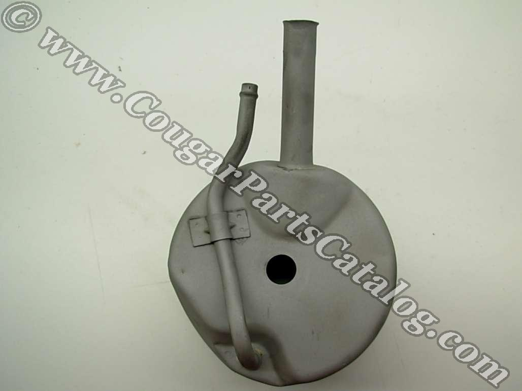 Hydraulic Oil Reservoir - Power Steering - D1ZZ-3A697-A - Used ~ 1971 - 1973 Mercury Cougar / 1971 - 1973 Ford Mustang - 25427