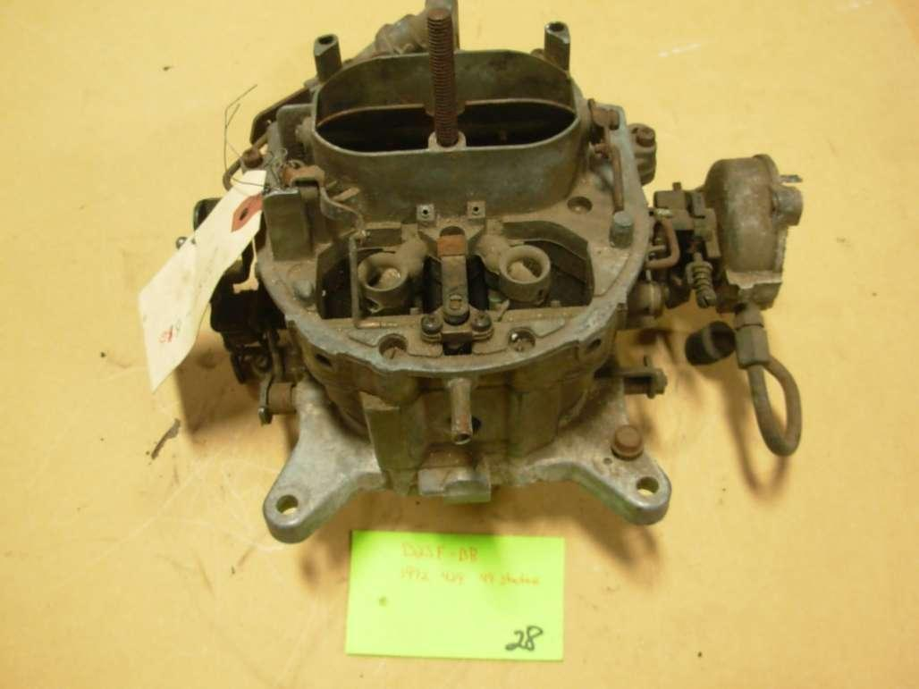 Motorcraft 4300 D2sf Bb Carburetor 28 Used Core 1972