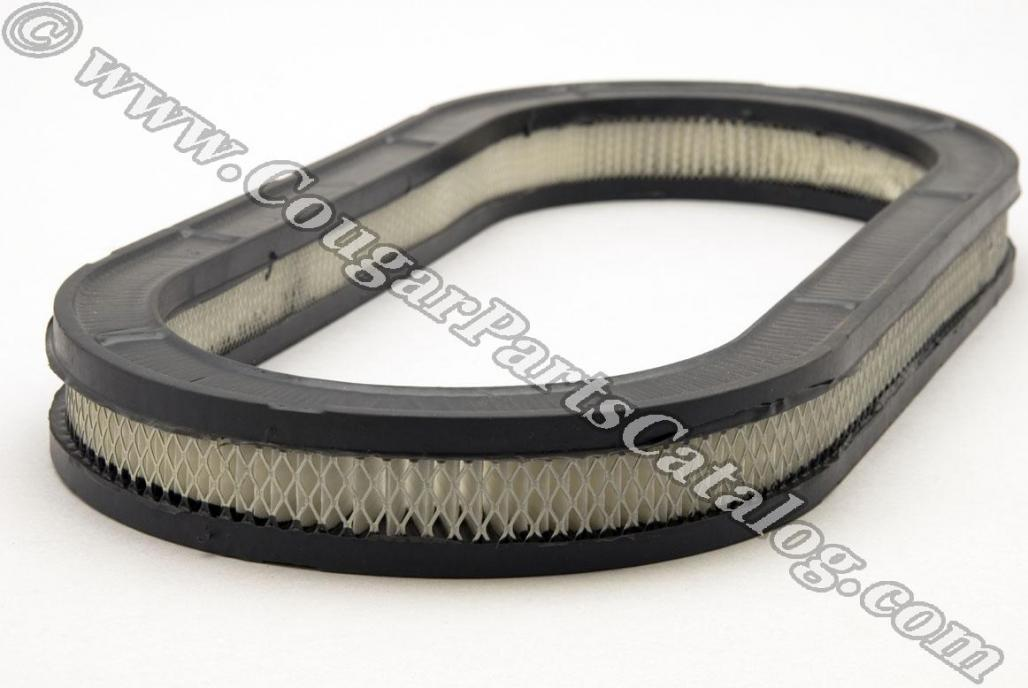 Air Filter - Oval - Repro ~ 1967 - 1973 Mercury Cougar / 1967 - 1973 Ford Mustang - 19977