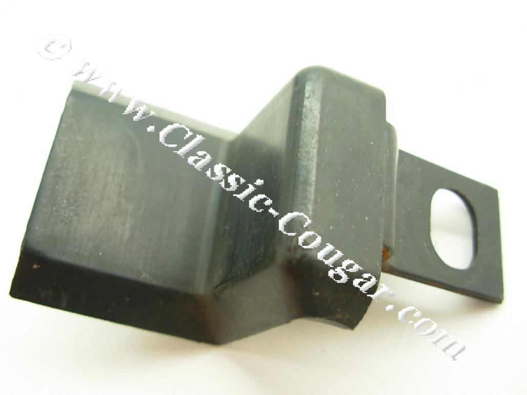 Bracket Cover - A/C Condenser - Used ~ 1967 - 1968 Mercury Cougar / 1967 - 1968 Ford Mustang - 19866