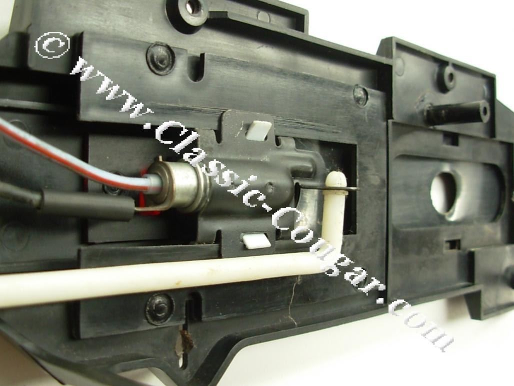 Installation Kit - Automatic Console - Used ~ 1968 Mercury Cougar / 1968 Ford Mustang - 27263