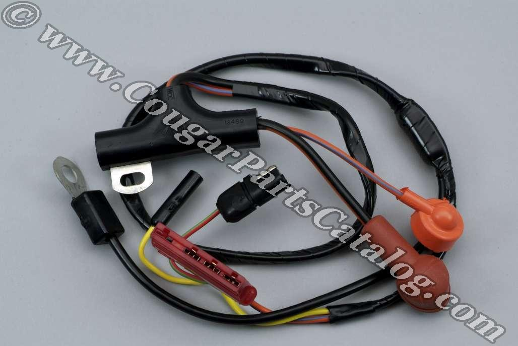 Alternator Wiring Harness - Economy - Repro