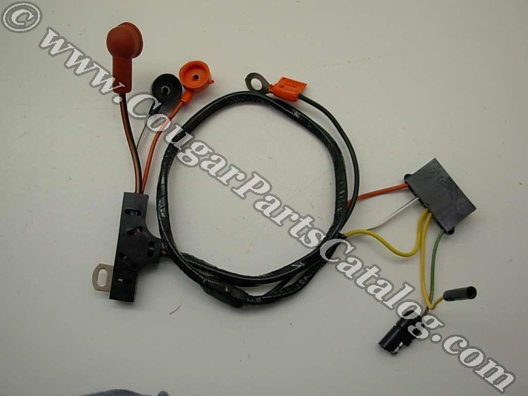 alternator wiring harness w o gauges economy repro. Black Bedroom Furniture Sets. Home Design Ideas