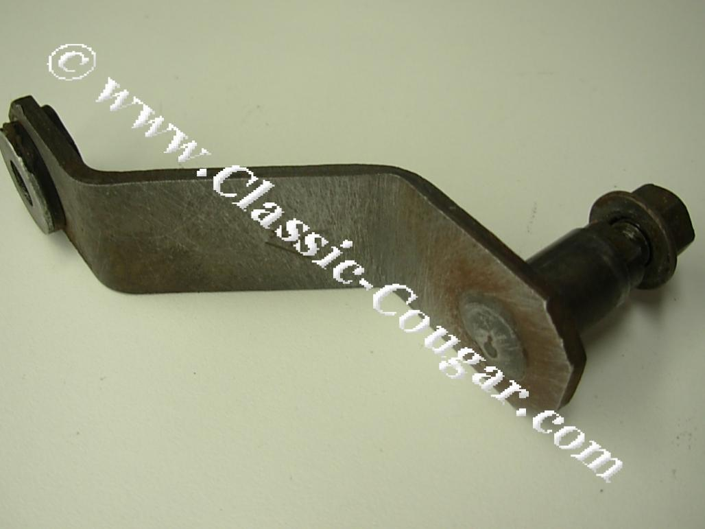 Shifter Arm and Support - Floor - Used ~ 1969 - 1973 Mercury Cougar / 1969 - 1973 Ford Mustang - 20121