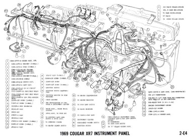 Manual Complete Electrical Schematic Free Download For 1970 Mercury Cougar At West Coast Classic Cougar The Definitive 1967 1973 Mercury Cougar Parts Source