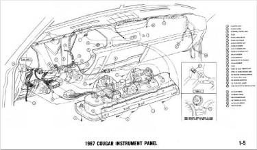 Manual Complete Electrical Schematic Free Download For 1969 Mercury Cougar At West Coast Classic Cougar The Definitive 1967 1973 Mercury Cougar Parts Source