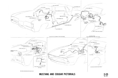 Manual Complete Electrical Schematic Free Download For 1972 Mercury Cougar At West Coast Classic Cougar The Definitive 1967 1973 Mercury Cougar Parts Source