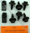 Fastener Kit - Hood Latch Vertical Support - Repro ~ 1969 - 1970 Mercury Cougar / 1969 - 1970 Ford Mustang