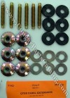 Fastener Kit - Quarter Panel Extension - Repro ~ 1969 - 1970 Mercury Cougar / 1969 - 1970 Ford Mustang