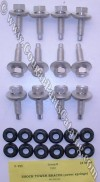 Shock Tower Brace Bolts & Nuts - Repro ~ 1969 - 1970 Mercury Cougar - 1969 - 1970 Ford Mustang