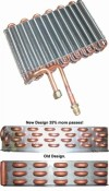 A/C Evaporator - Repro ~ 1967 - 1968 Mercury Cougar / 1967 - 1968 Ford Mustang